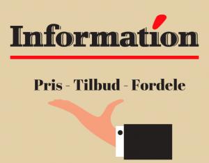 information tilbud