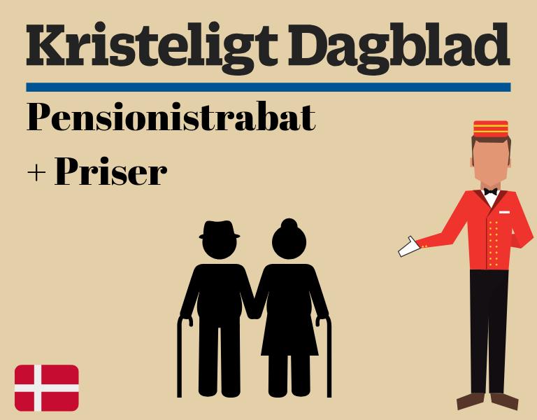 Kristeligt Dagblad Pensionist rabat priser