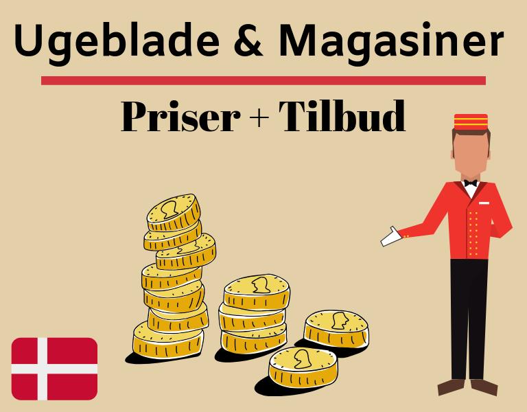 koster ugablade og magasiner priser