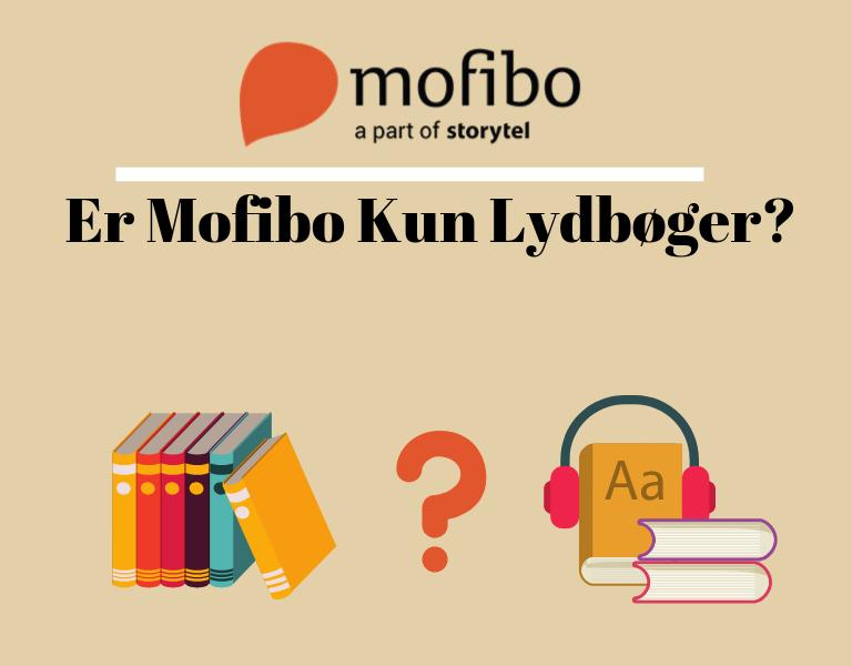Er Mofibo Kun Lydbøger